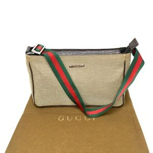 Authentic Gucci beige/light brown small bag.